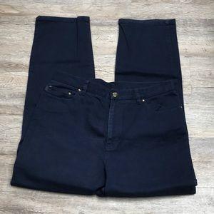 Denim - Ralph Lauren SZ 14 Navy Blue Jeans (33x29) P34